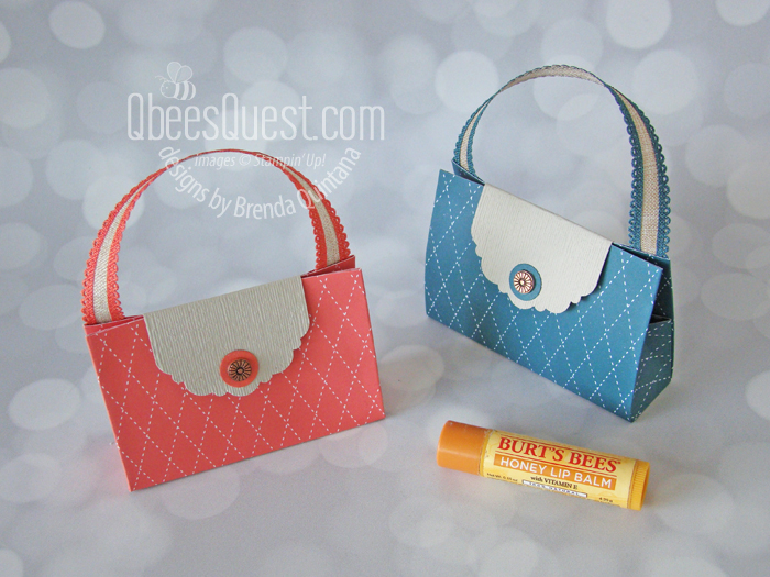 Lip Balm Purse (6 x 6 Project Week)