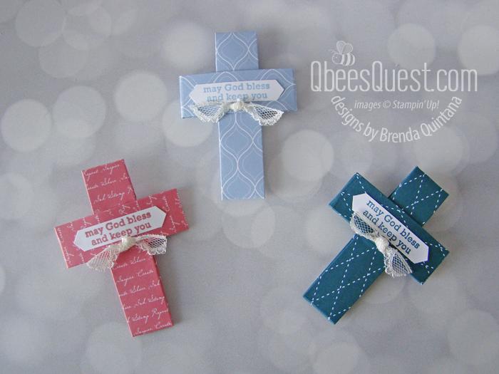 Scored Origami Cross (6 x 6 Project Week)