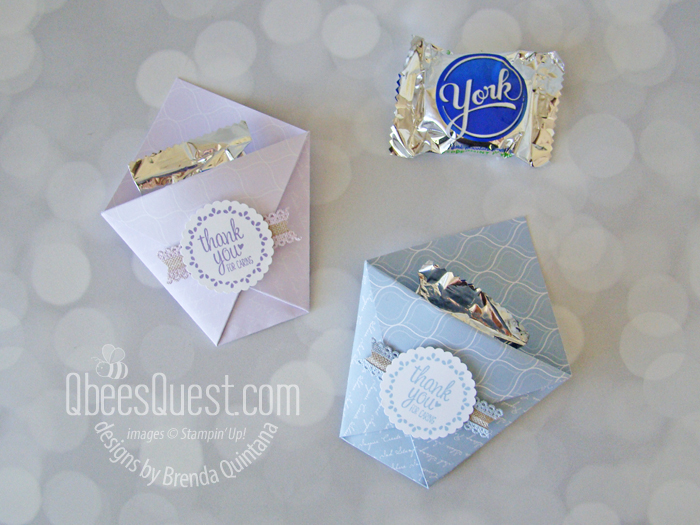 York Peppermint Patties Pouch (6 x 6 Project Week)