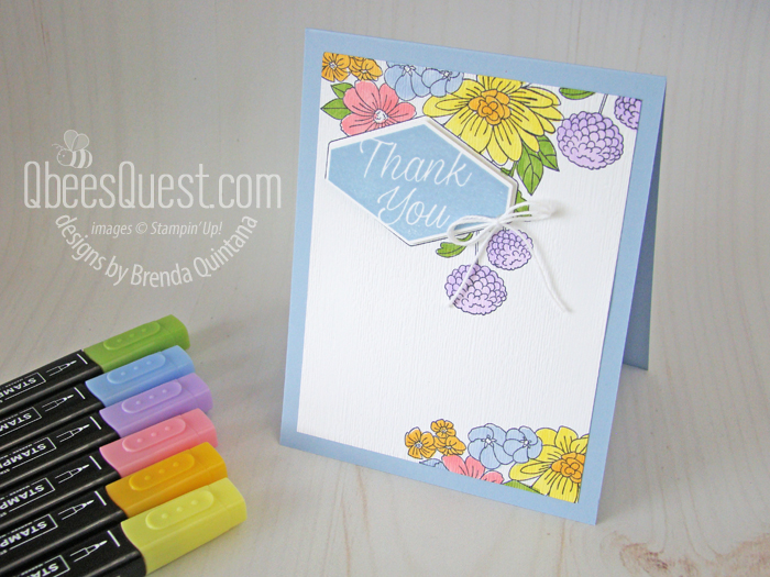 Accented Blooms Card