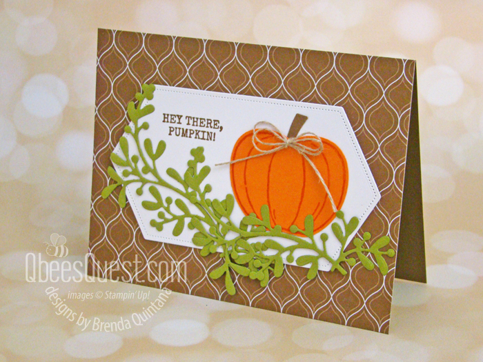 Harvest Hellos Card