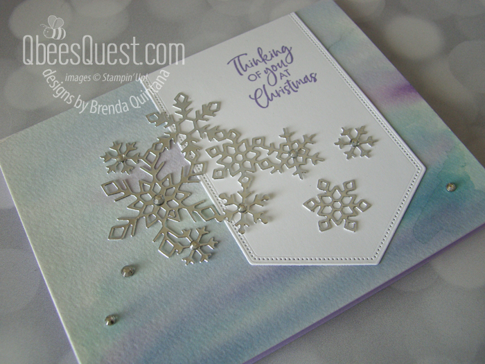 Itty Bitty Christmas Snowflake Card