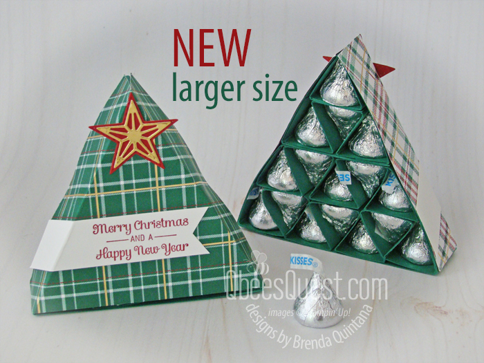 NEW Large Hershey's Kisses Christmas Tree with Gift Box