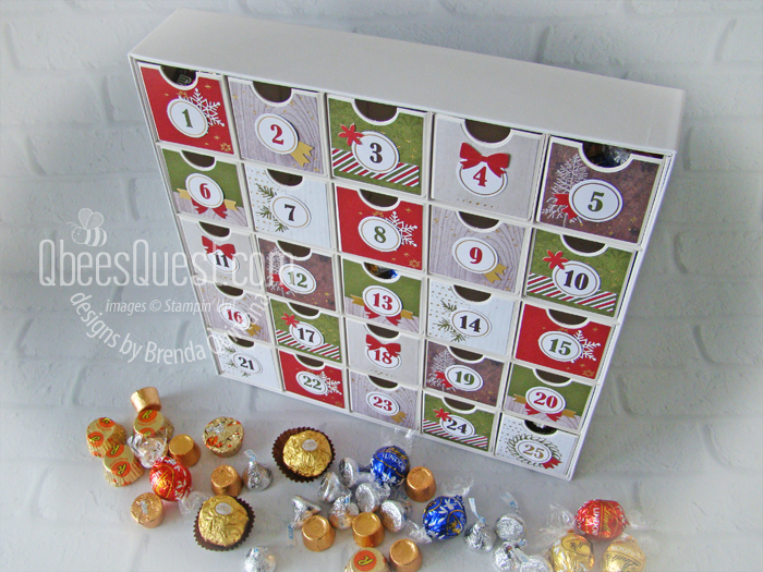 Advent Calendar Kit (perfect gift for college kids)
