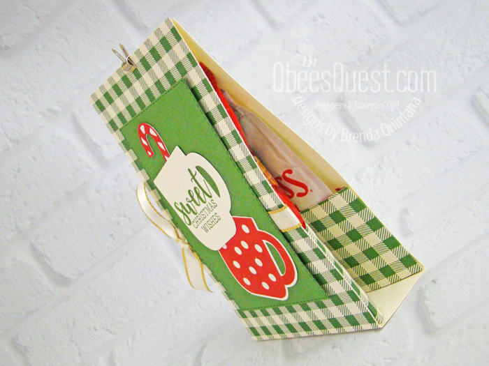 Cookies & Cocoa Treat Holder (side view)