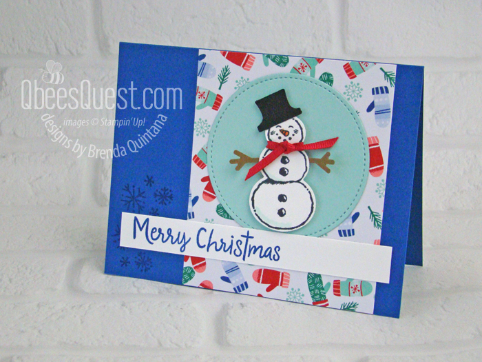 Snowman Punch Card