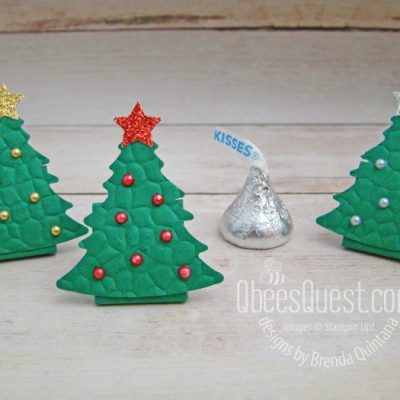 Hershey's Kiss Christmas Trees