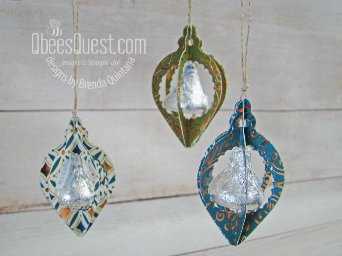 Hershey's Kiss Christmas Ornaments