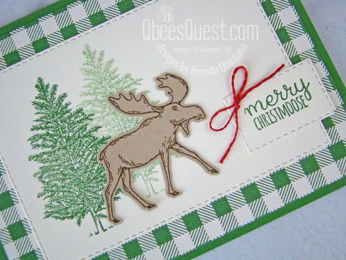 Merry Moose Card