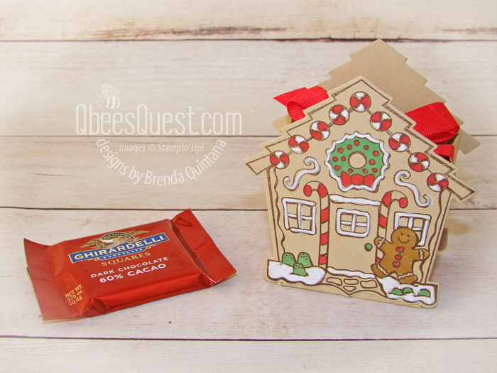 Yummy Christmas Ghirardelli Holder