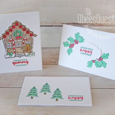 Yummy Christmas Note Cards