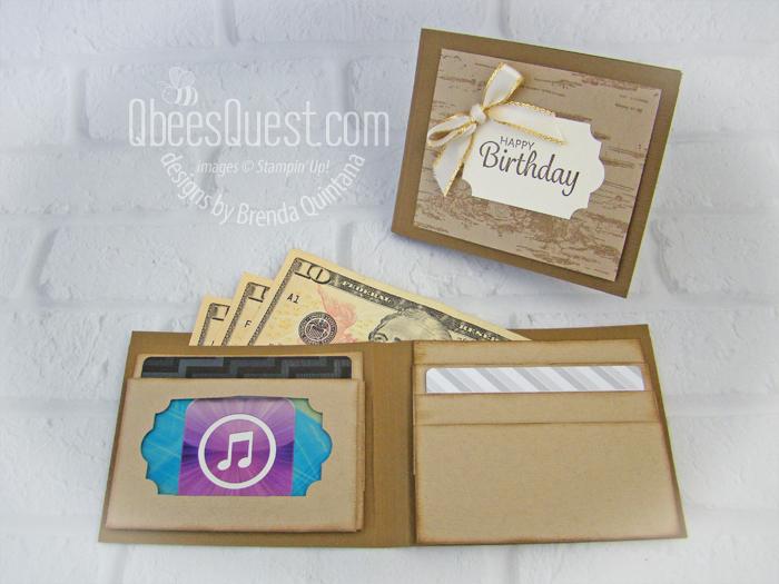 Birthday Gift Card Wallet