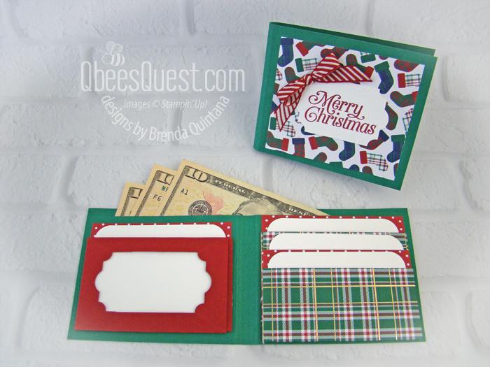 Christmas Gift Card Wallet