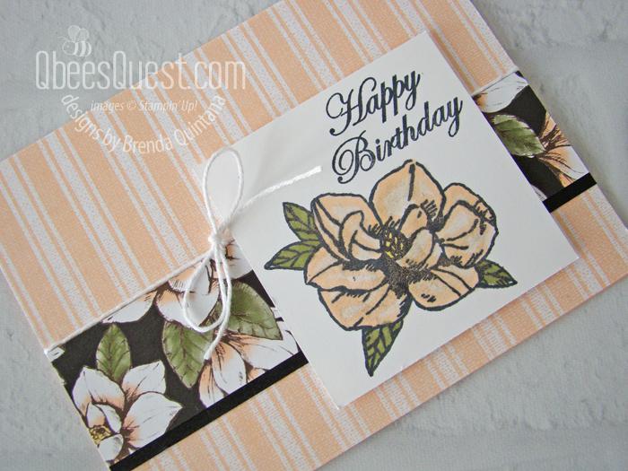 Magnolia Blooms Card