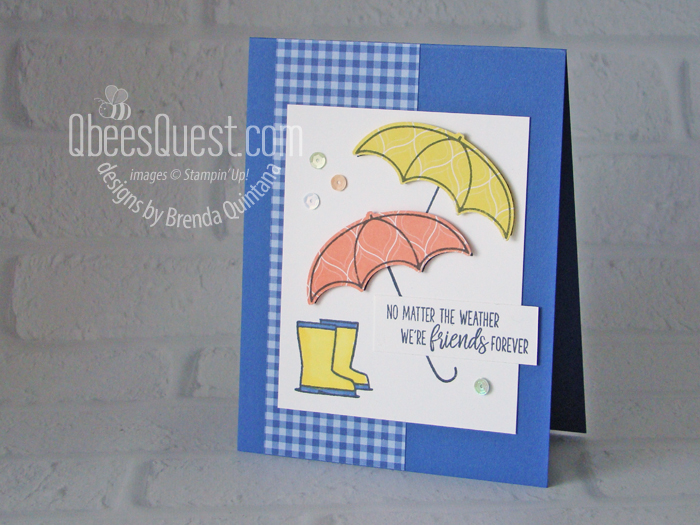 Sneak Peek: Under my Umbrella Card