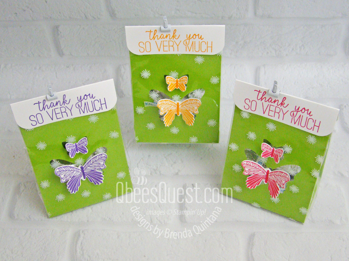 Butterfly Punch Treat Bags