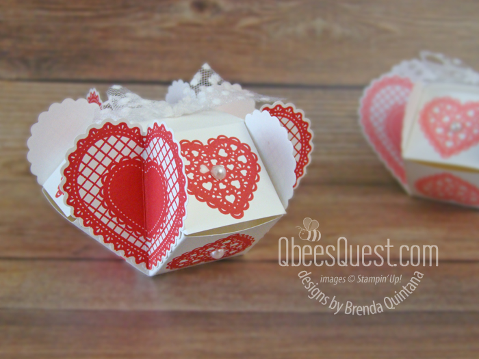 Clam Shell Heart Box Tutorial