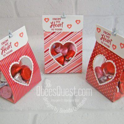 Heart Window Treat Bags
