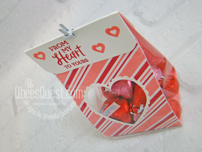Heart Window Treat Bag