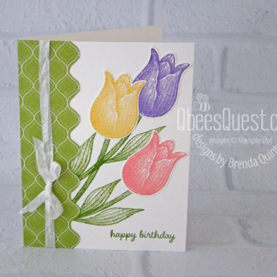 Timeless Tulips Birthday Card