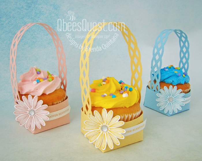Cupcake Easter Basket
