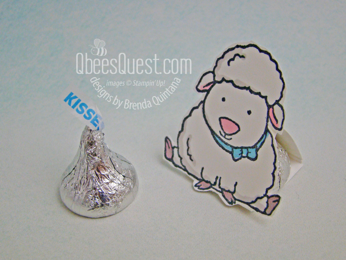 Easter Hershey's Kiss Tents