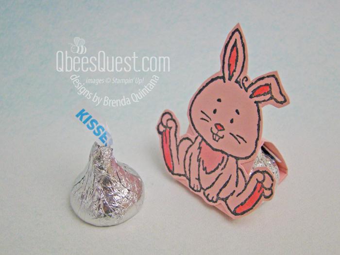 Bunny Hershey's Kiss Tent