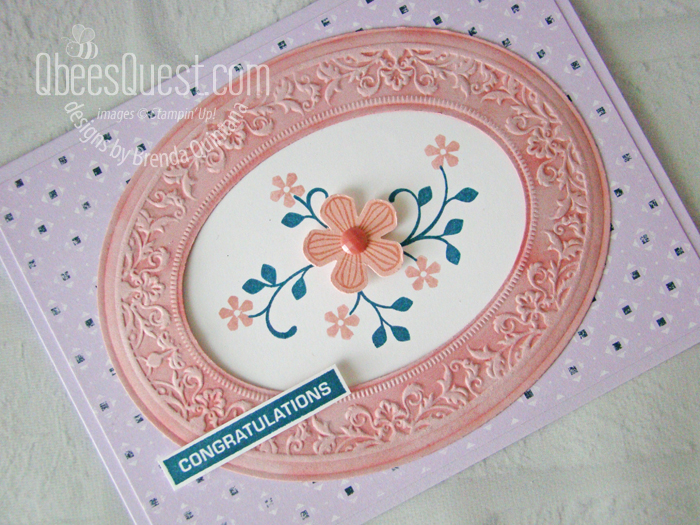Thoughtful Blooms Congratulations Card