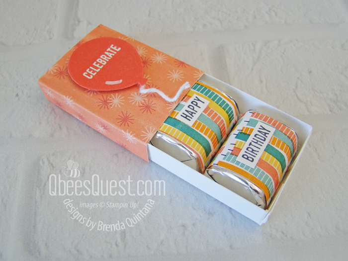 Hershey's Nugget Birthday Boxes