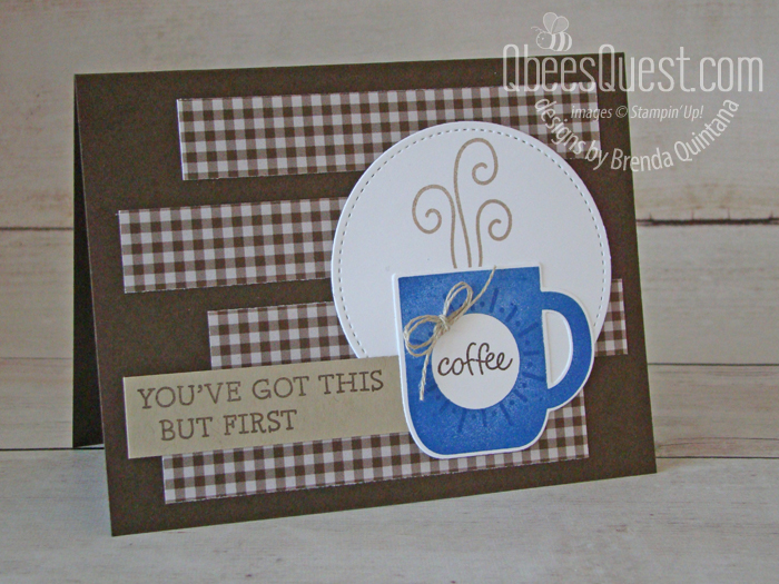 Coffee + Encouragement Card