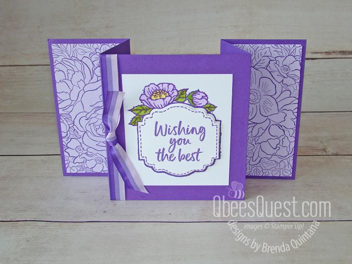 Easy Fancy Fold Card
