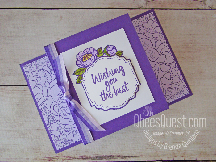 Easy Fancy Fold Card