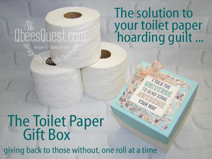 Toilet Paper Gift Box