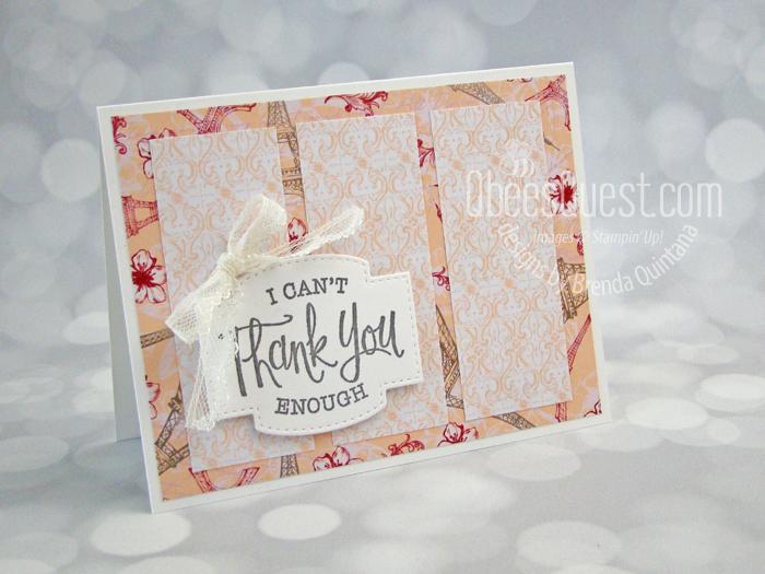 So Sentimental Goodbye Card