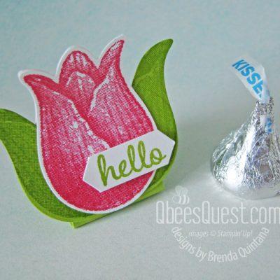 Tulip Hershey's Kiss Tent