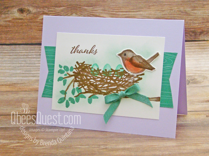 Birds & Branches Card (CT#255)