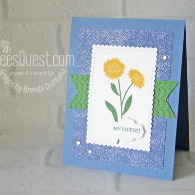 Field of Flowers Card