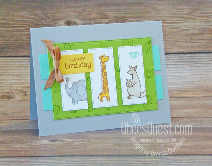 Zoo Globe Birthday Card (CT#256)
