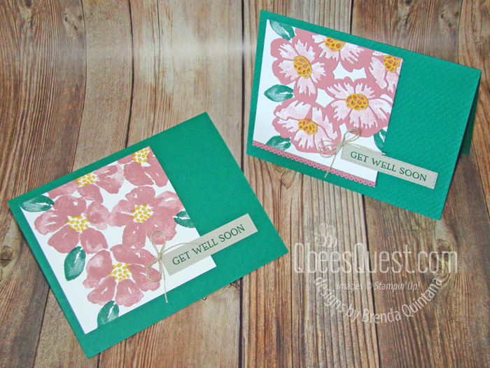 Blossoms in Bloom Get Well Cards