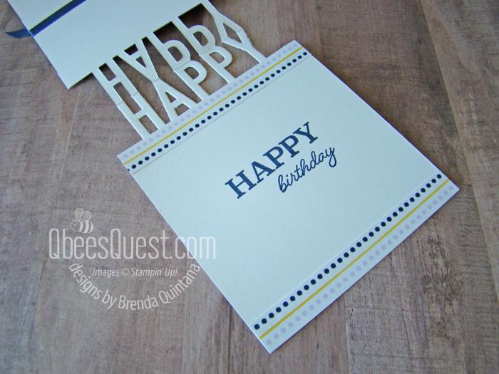 Happy Cake Card Inside