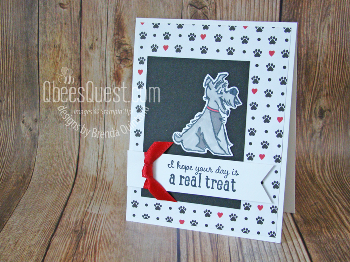 Pampered Pets Card (CT #161)
