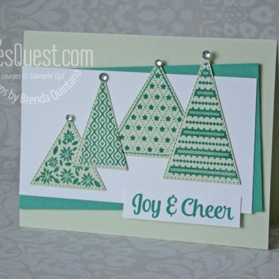 Monochromatic Tree Angle Card