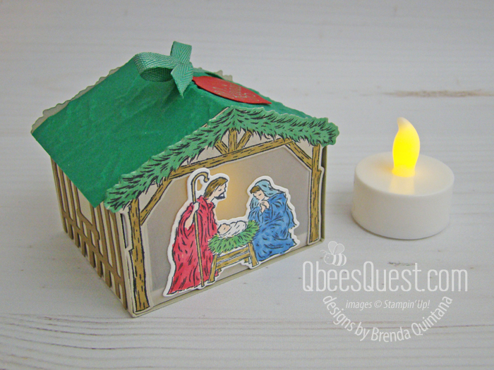 Peaceful Nativity Gift Box