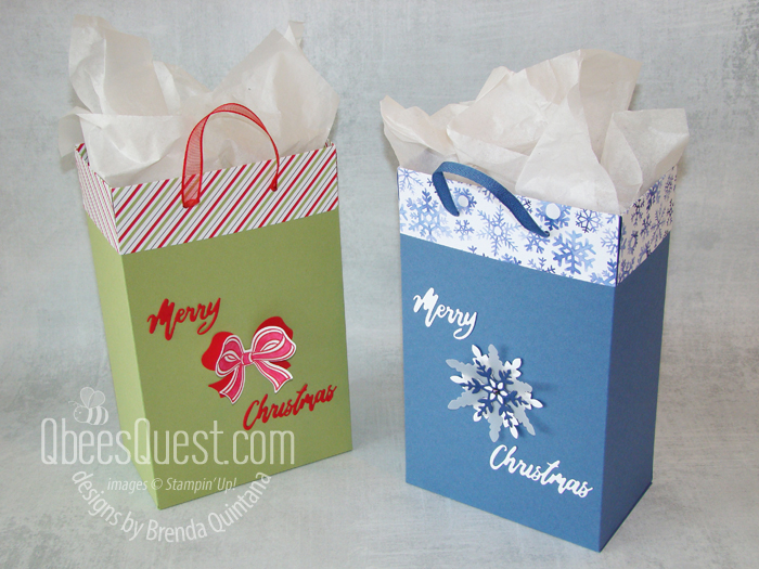 Easy 2-Sheet Gift Bags