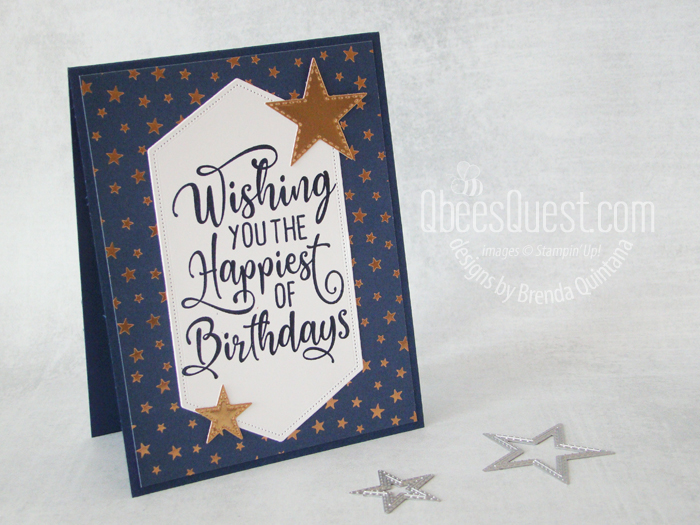 1-day SALE TODAY & Happiest of Birthdays Card