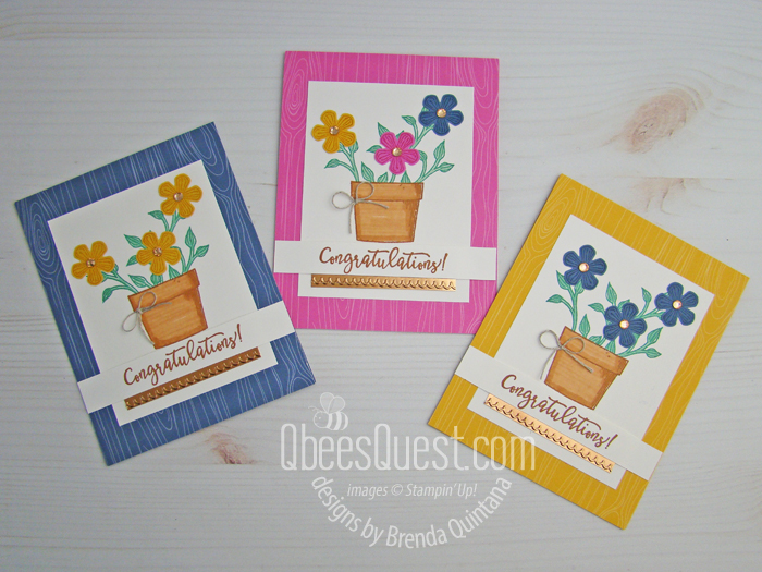 Basket of Blooms Congratulations Card