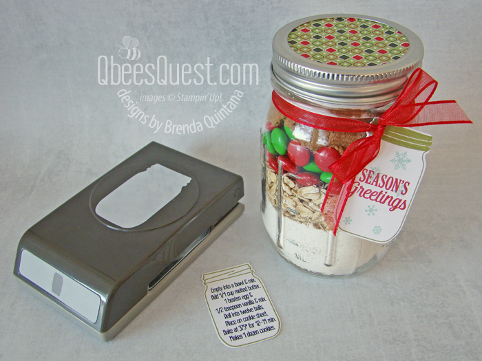 Cookie Mix Gift Jars