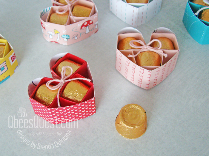 Rolos Heart Tutorial with Gift Box