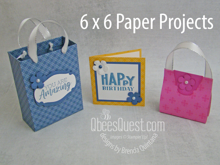 Day 4: Gift Set with 6 x 6 Paper