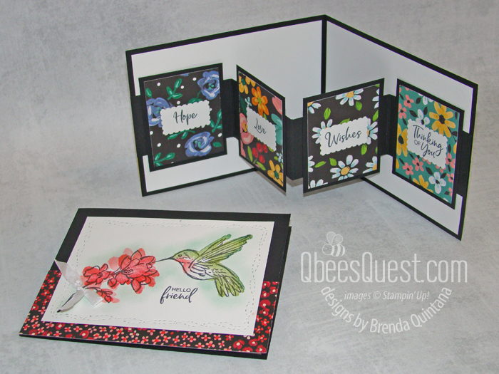 Day 3: W Fancy Fold Card & Ordering Special